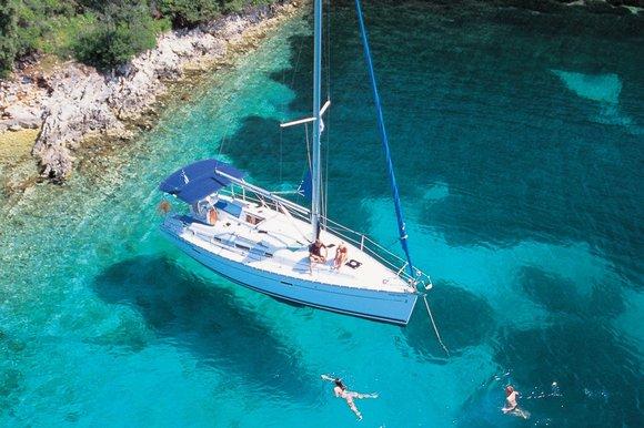 Croatia yacht beach swimming