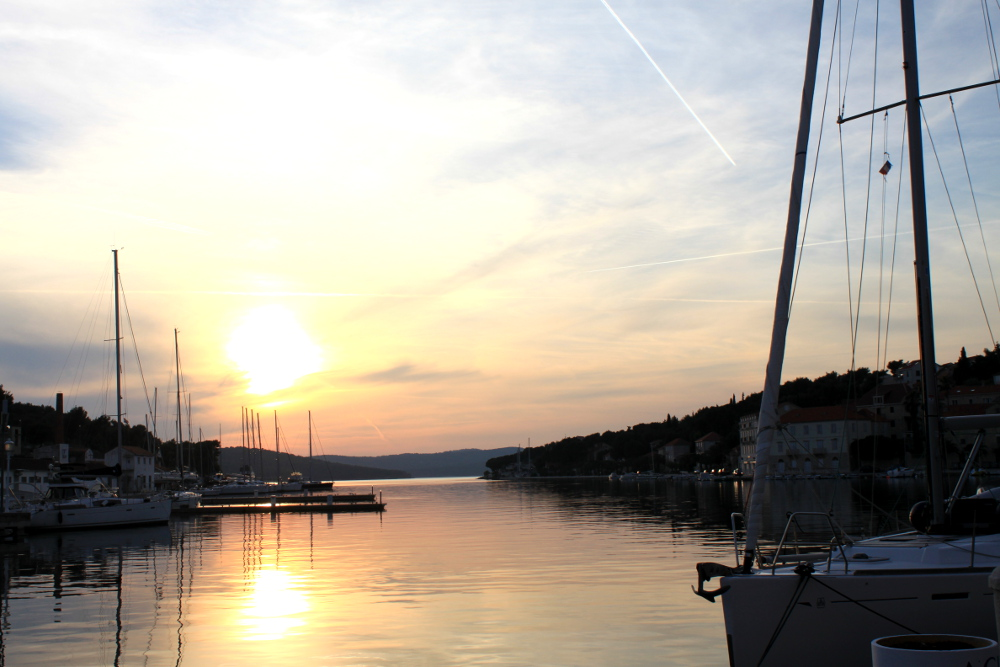 Sunset Sailing Croatia